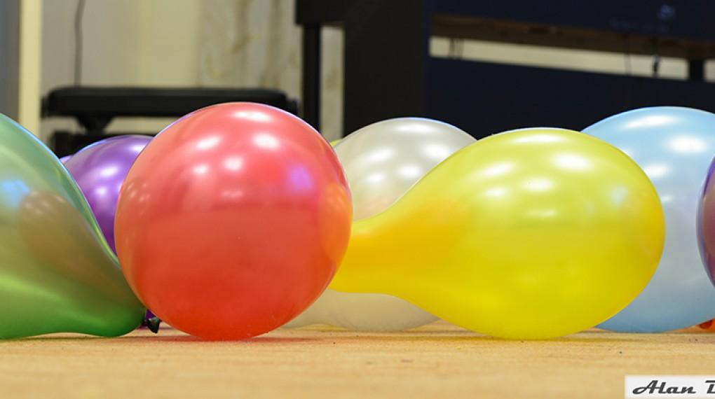 Перламутровые надувные шары