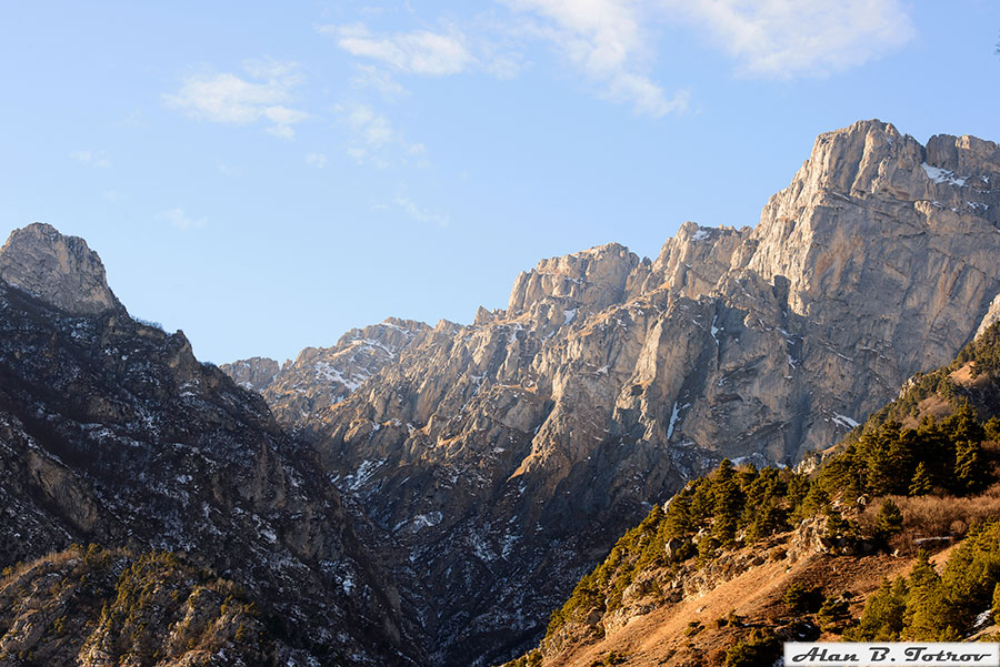 Кавказский хребет, Верхний Фиагдон