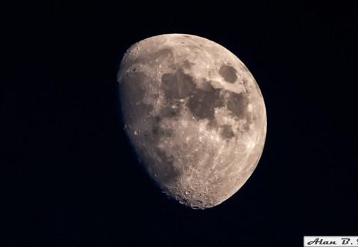 Луна перед полнолунием