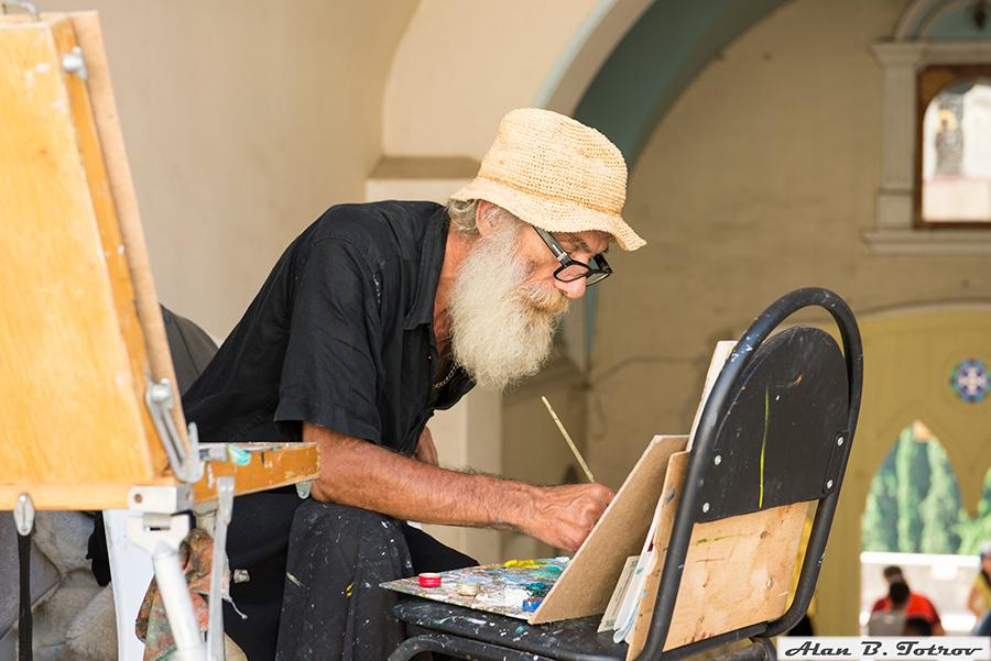 Монастырский художник