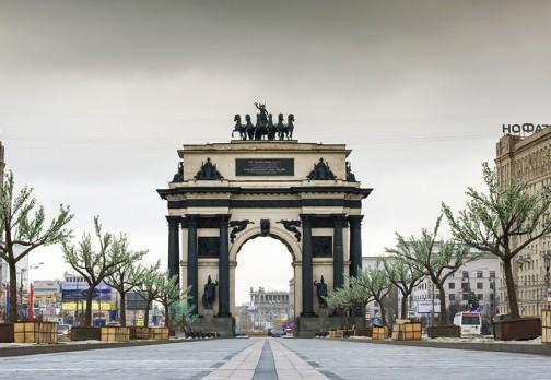 Триумфальная арка на Кутузовском