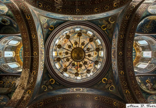 Росписи Пантелеймоновского собора