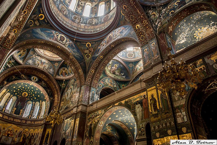 Росписи Пантелеймоновского собора (Новый Афон)