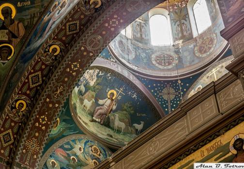 Пантелеймоновский собор (росписи)