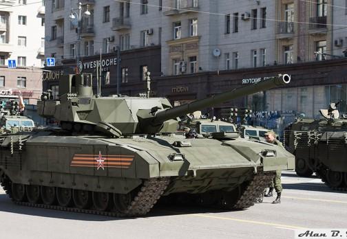 Основной боевой танк Т-14 Армата