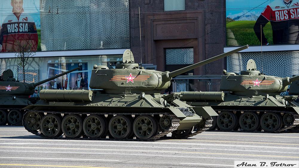 Легендарный средний танк Т-34